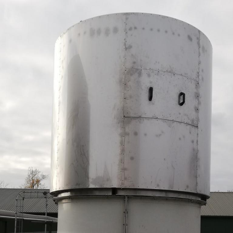 Wykonanie i montaż tłumika hałasu wentylatora chłodniowego
