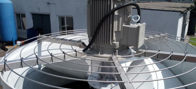 Wirnik w chłodni wentylatorowej Alfa 2400